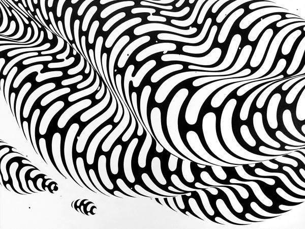 detail of Forming Clouds by Brendan Monroe