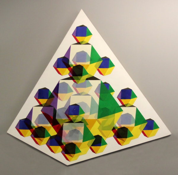 16 Frequency Tetrahedron by John Hiigli